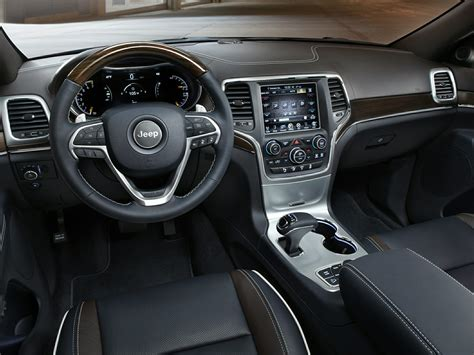 jeep grand interior 2015 jeep grand cherokee price photos reviews features