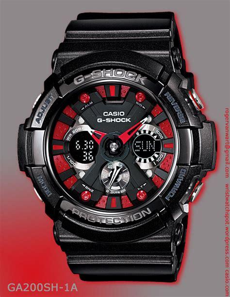 G Shock Metallic Colors Series G Shock Watches Ga 200sh 1a Ga