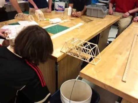 lindbergh high school balsa wood bridge competition