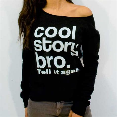 Sweater Dod Bro Jidnie Clothing cool story bro on the hunt