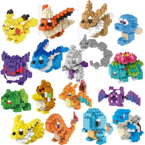 Nano Block Bricks Pikachu Lele buy wholesale nano blocks from china nano blocks