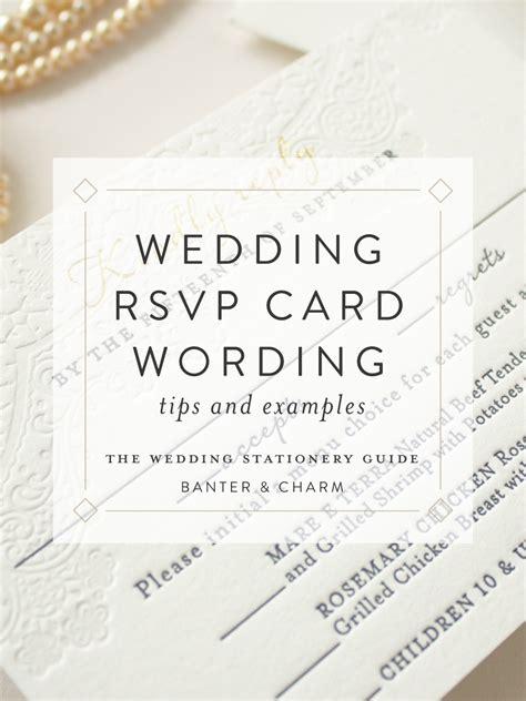 sample rsvp cards for wedding invitations celebrity