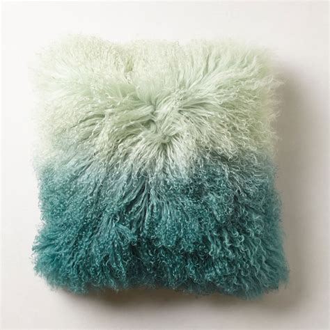 Amazon Kitchen Knives ombre luxe fur pillow so that s cool