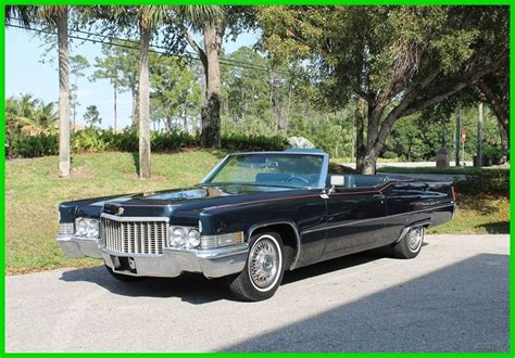 1970 cadillac convertible for sale