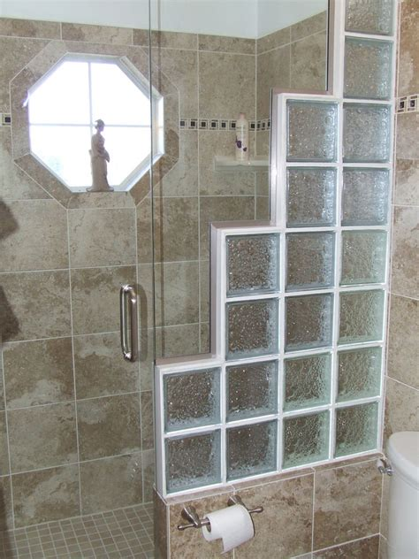 glass block bathroom shower ideas 4 ideas for using glassblock at home mybktouch com