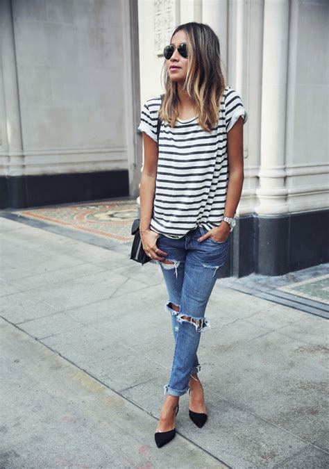 hairstyles on jeans how to make ripped jeans in 5 steps stylecaster