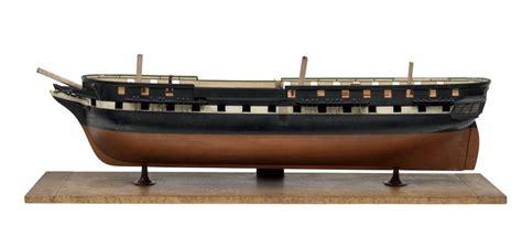 Baseboard Sizes by 44 Gun Frigate Hms Meander 1840 Unknown Royal