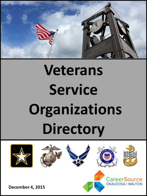 service organizations veterans service organizations careersource okaloosa walton