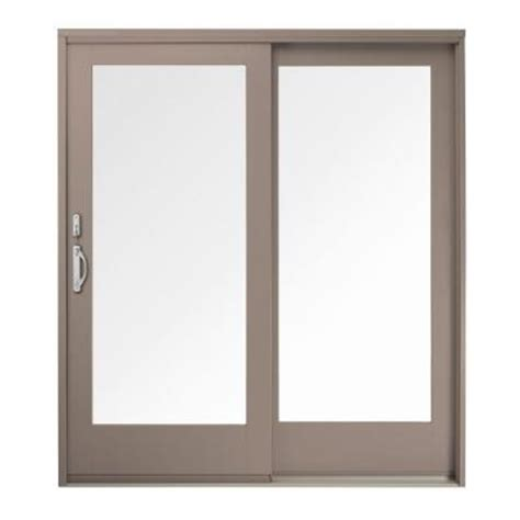 Gliding Patio Doors Andersen 59 25 In X 79 5 In 400 Series Wood Gliding Right 5068 Pine Interior Patio