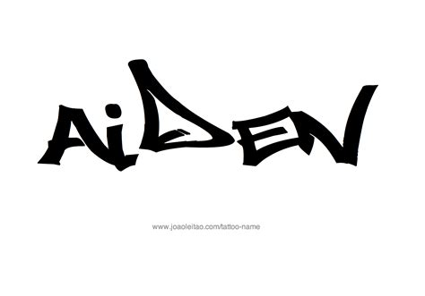 aiden tattoo 28 aiden name designs aiden name