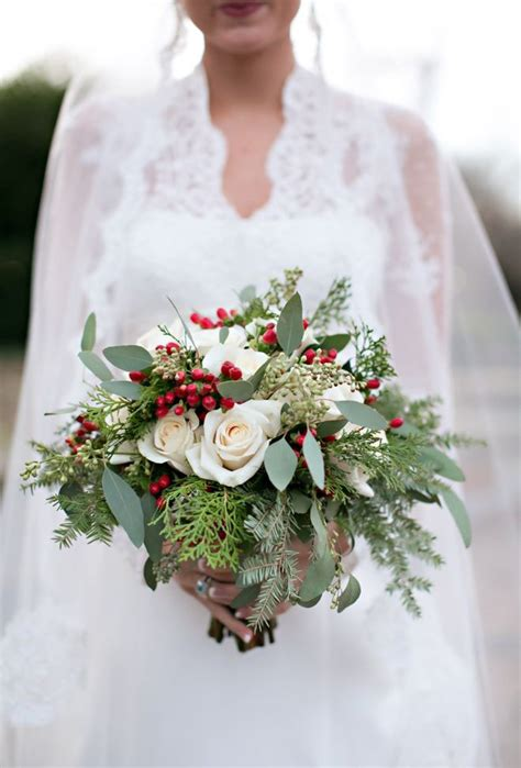 best flowers for weddings the best christmas wedding flowers for that festive feel