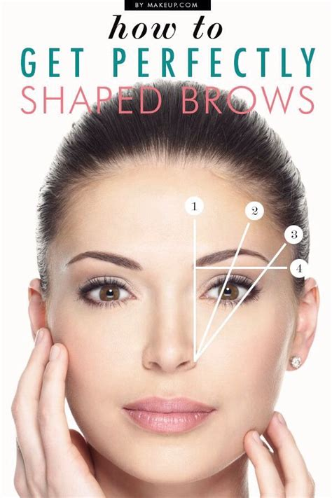 how to get a perfect arch for your eyebrows 14 steps get the perfect eyebrows musely