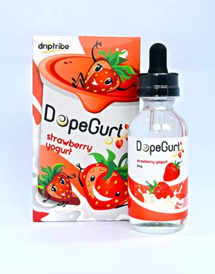 Annabella Strawberry Yogurt 60ml strawberry yogurt by dopegurt 60ml liquids gr