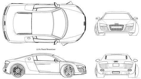 blueprint templates audi 500