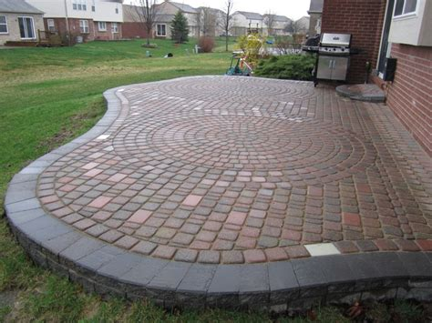 Brick Pavers Canton Plymouth Northville Ann Arbor Patio Paver Patio Designs Pictures