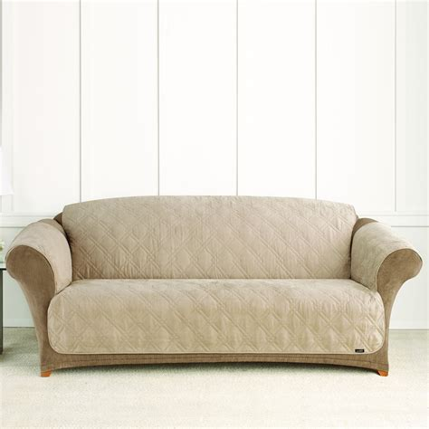 surefit couch cover sure fit slipcovers pet throw quilted sofa cover atg stores