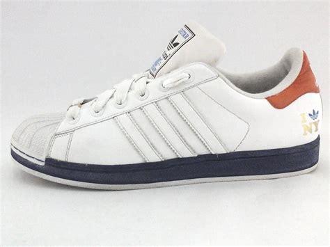 adidas superstar  york  love ny whiteblue sneakers