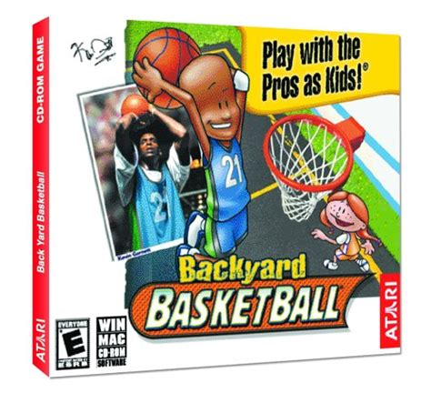 backyard basketball pc backyard basketball jewel case pc