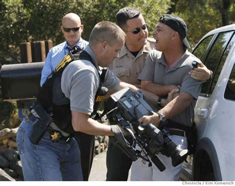 napa county booking report newsmen arrested reporting on sfgate