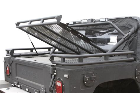 bed rack predator inc hummer h1 search rescue bed rack