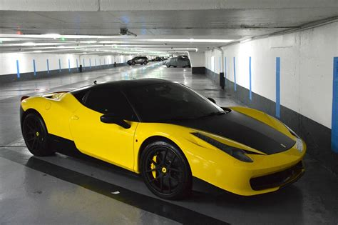 ferrari yellow wallpaper yellow ferrari 458 italia 58 wallpapers hd desktop