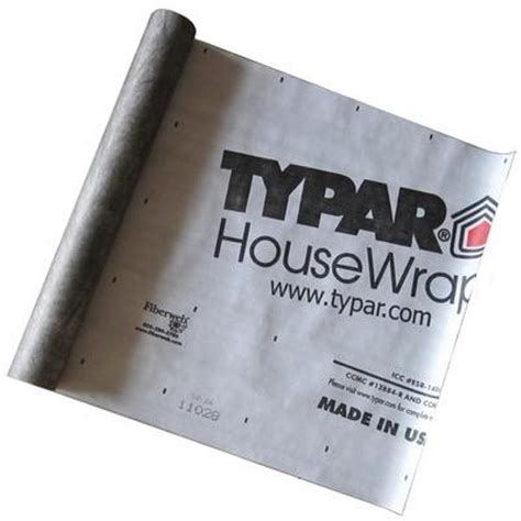 house wrap home depot typar 9 ft x 100 ft housewrap roll 3234a 909 the home depot