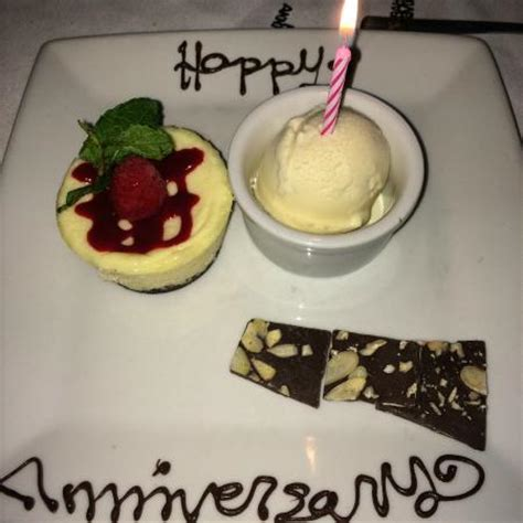 Ruth Chris Anniversary Gift Card - dinner for two at ruth s chris steak house in greensboro nc on 12 15 14 picture of