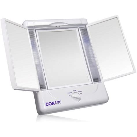 Lighted Makeup Mirror Walmart by Conair Illumina Collection Two Sided Lighted Make Up
