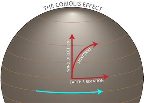 diagram of coriolis effect characteristics of tropical cyclones formation of tropical