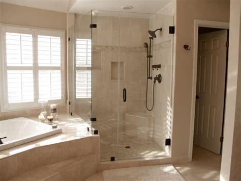 Frameless Shower Doors Traditional Boston By Houzz Bathrooms With Showers