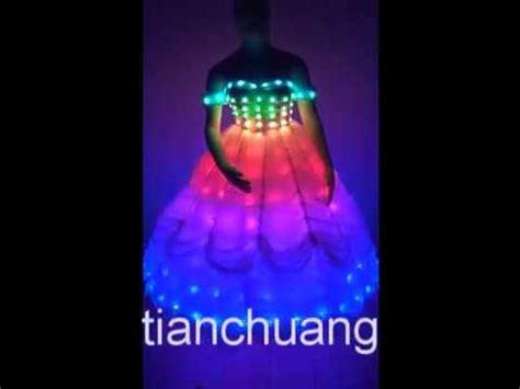 Color Changing Cloth Detox by Light Up Tutu Skrit Wedding Dress Dress Color
