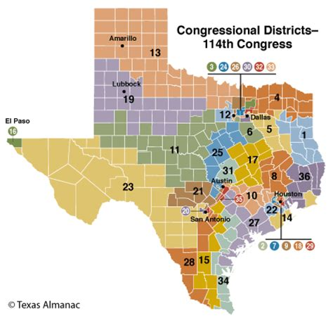 texas state representative map elections texas almanac