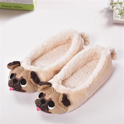 pug slippers pug slippers for the barking pug