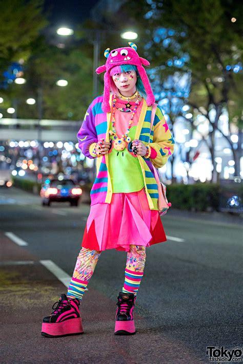 harajuku fashion walk organizer junnyan  kawaii street