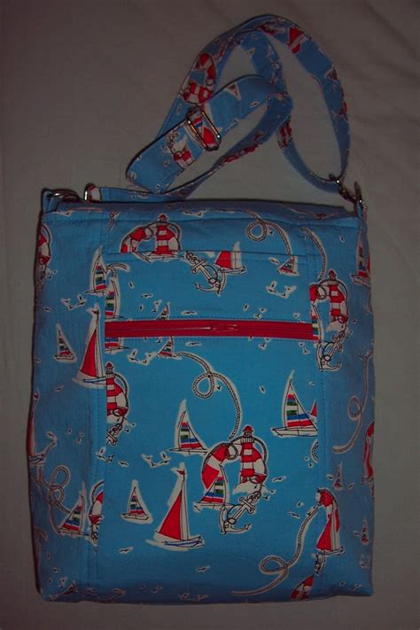nautical themed bags nautical themed cross bag by deby coles v