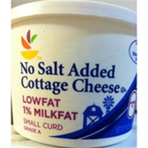 How Much Calories In Cottage Cheese by Stop Shop Cottage Cheese Small Curd Calories