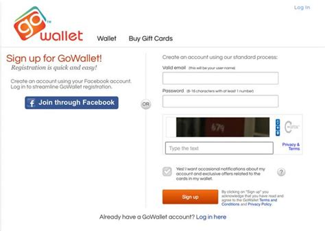 Visa Gowallet Com Gift Card - protect and organize your gift cards with gowallet