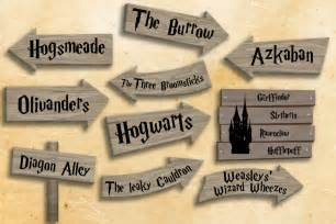 harry potter dekoration harry potter printables harry potter decorations