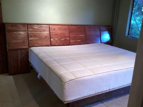 custom made headboards custom made headboard with storage aromatic cedar by
