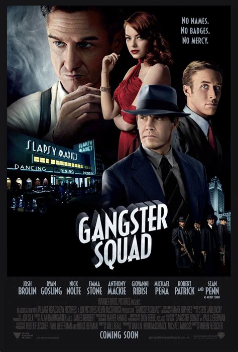 film like gangster squad nordling says gangster squad should go sleep with the fishes
