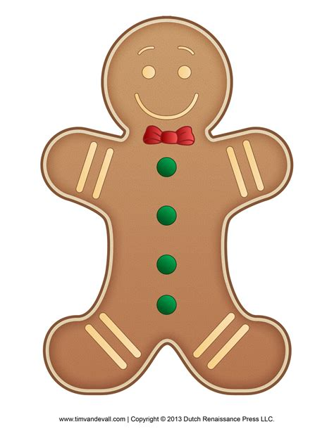 free printable gingerbread man border gingerbread man clip art tim s printables