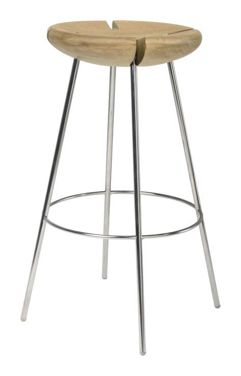 wood and metal stool uk tribo bar stool h 76 cm wood metal legs solid oak