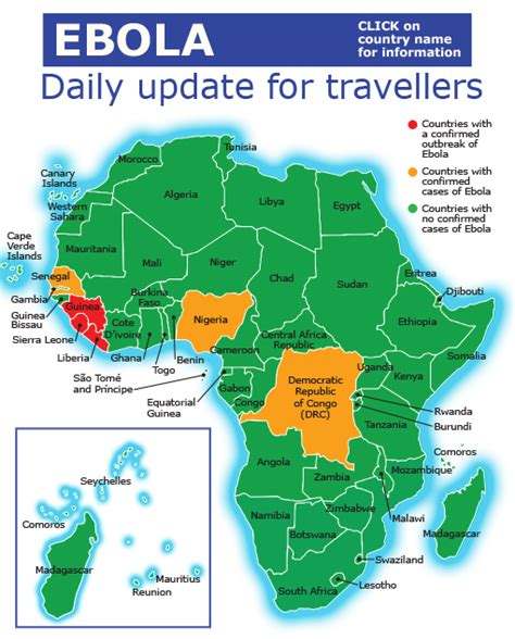 africa map updated ebola update is south africa safe to visit wings
