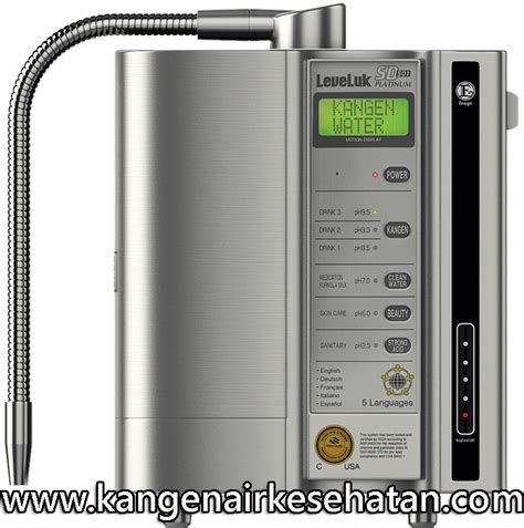 Mesin Air Minum Kangen Water mesin kangen water 174 leveluk sd501 platinum kangen air