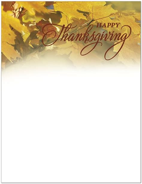 1000 Images About Thanksgiving Stationery On Pinterest Thanksgiving Note Paper And Writing Thanksgiving Email Template For Outlook