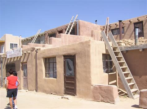 pueblo adobe houses panoramio photo of adobe homes acoma pueblo