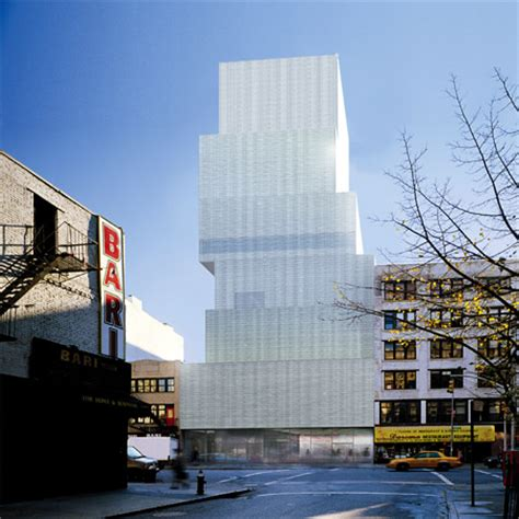 architects in ny new museum of contemporary in new york by kazuyo