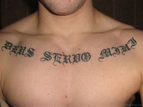 chest lettering tattoo designs 35 great ambigram tattoos on chest