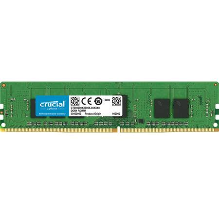 Crusial Olshop 288 crucial technology 4gb 288 pin rdimm ddr4 pc4 21300 memory module registered
