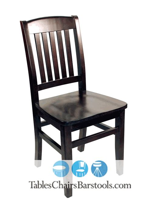 Commercial Dining Chair Kodiak Walnut Wooden Commercial Dining Chair Bar Restaurant Furniture Tables Chairs And